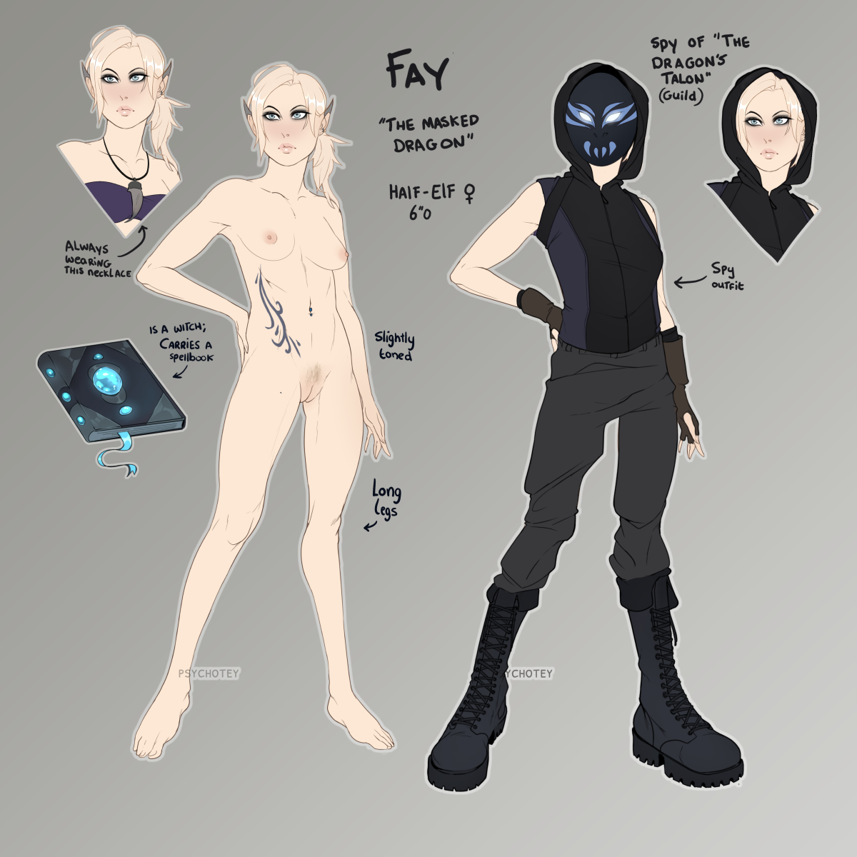 Fay character sheet