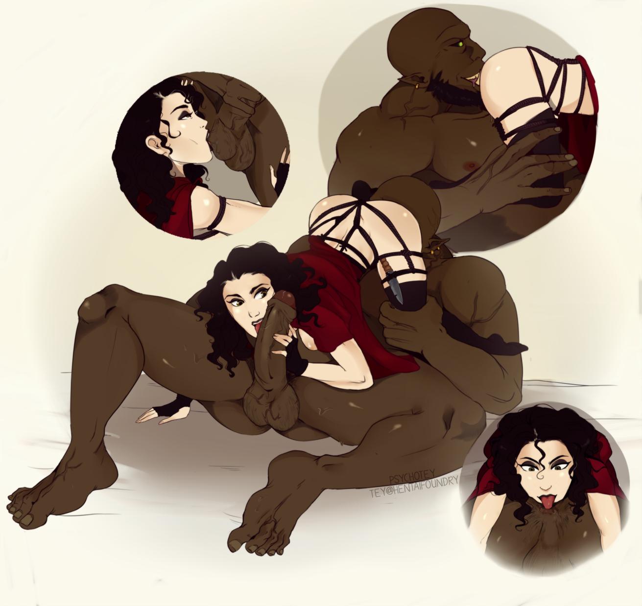 Gorgo and Huntress