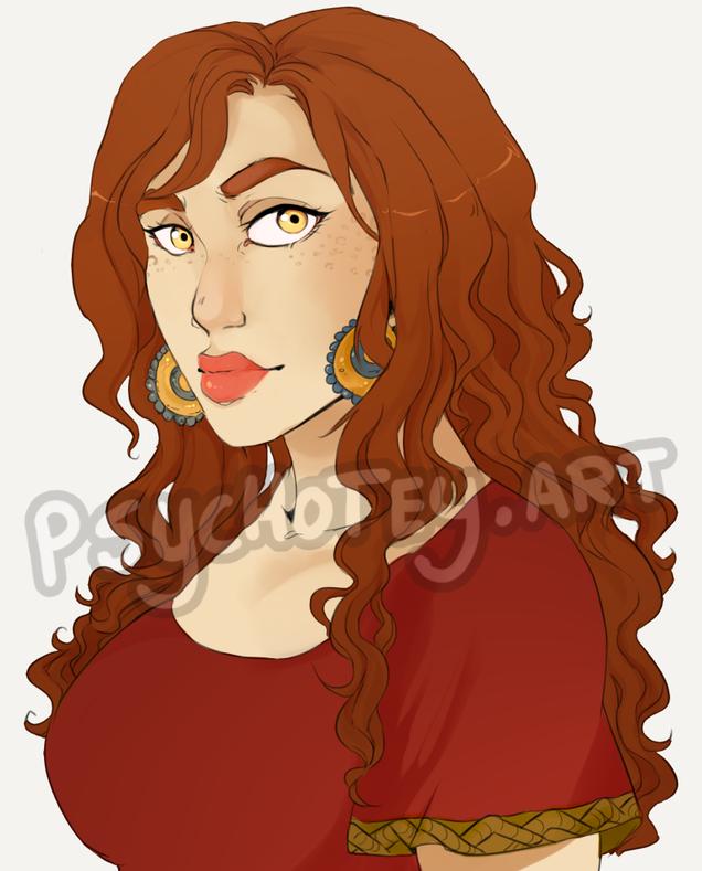Agnesa portrait