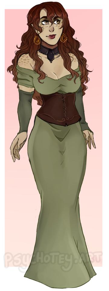 Agnesa – fancy outfit