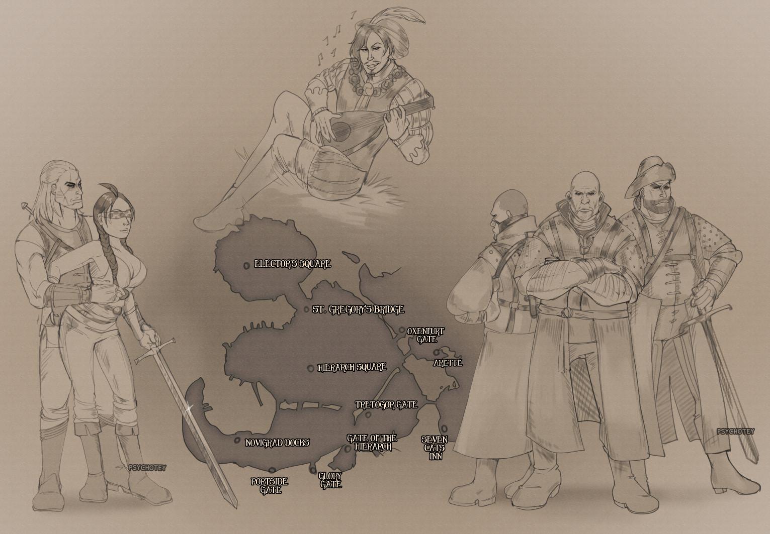 Novigrad Map Commission