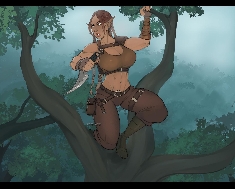 Talia in the Trees